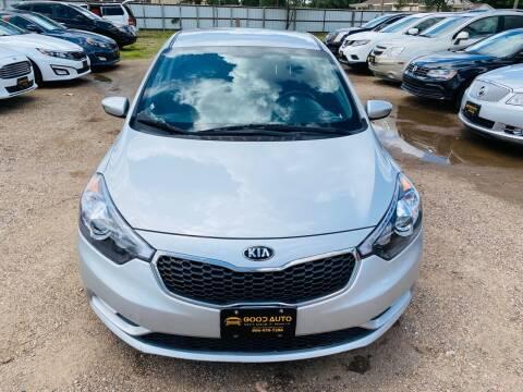 2015 Kia Forte for sale at Good Auto Company LLC in Lubbock TX