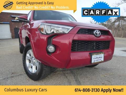 2017 Toyota 4Runner for sale at Columbus Luxury Cars in Columbus OH