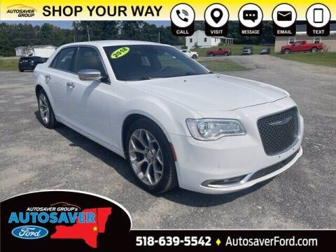 2018 Chrysler 300 for sale at Autosaver Ford in Comstock NY