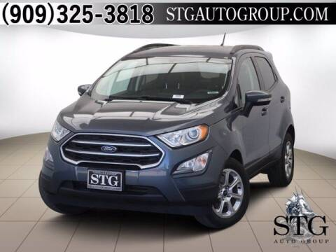 2018 Ford EcoSport for sale at STG Auto Group in Montclair CA