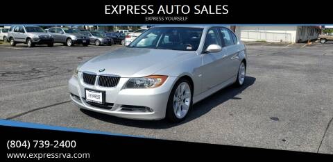 2006 BMW 3 Series for sale at EXPRESS AUTO SALES in Midlothian VA