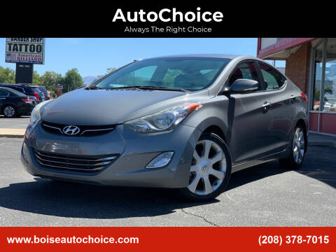 2013 Hyundai Elantra for sale at AutoChoice in Boise ID