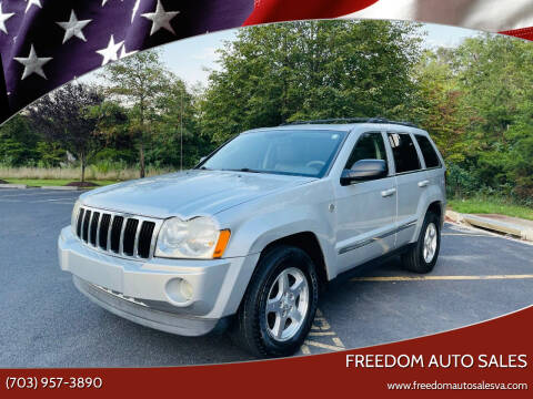 2005 Jeep Grand Cherokee for sale at Freedom Auto Sales in Chantilly VA