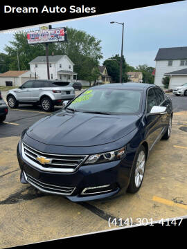 2019 Chevrolet Impala for sale at Dream Auto Sales in South Milwaukee WI