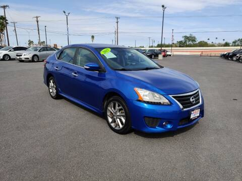 2015 Nissan Sentra for sale at Mid Valley Motors in La Feria TX