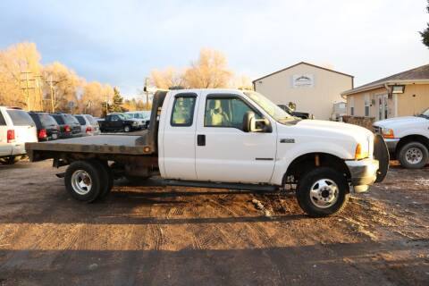 2001 Ford F-350 Super Duty for sale at Northern Colorado auto sales Inc in Fort Collins CO