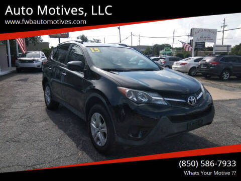 2015 Toyota RAV4 for sale at Auto Motives, LLC in Fort Walton Beach FL