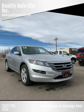 2012 Honda Crosstour for sale at Quality Auto City Inc. in Laramie WY