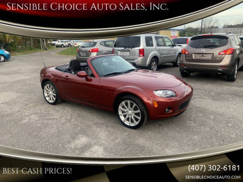 2008 Mazda MX-5 Miata for sale at Sensible Choice Auto Sales, Inc. in Longwood FL