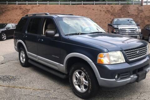 2002 Ford Explorer for sale at QUINN'S AUTOMOTIVE in Leominster MA