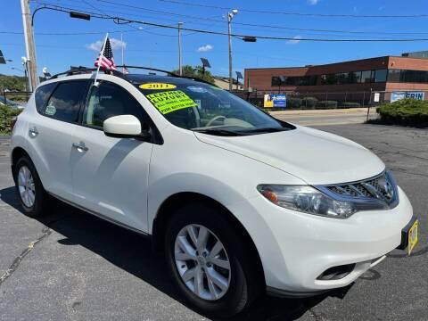 2011 Nissan Murano for sale at Fields Corner Auto Sales in Boston MA