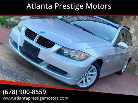 2006 BMW 3 Series for sale at Atlanta Prestige Motors in Decatur GA