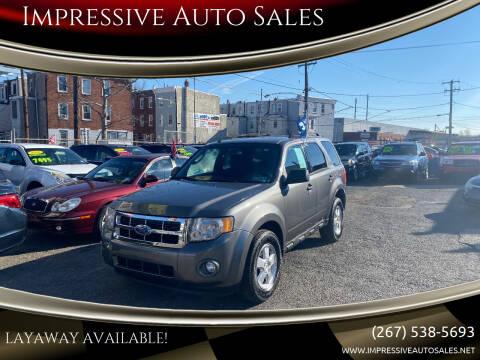 2009 Ford Escape for sale at Impressive Auto Sales in Philadelphia PA