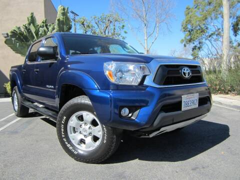 2015 Toyota Tacoma for sale at ORANGE COUNTY AUTO WHOLESALE in Irvine CA