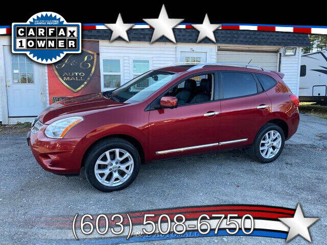 2012 Nissan Rogue for sale at J & E AUTOMALL in Pelham NH
