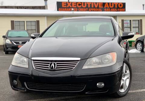 2006 Acura RL for sale at Executive Auto in Winchester VA