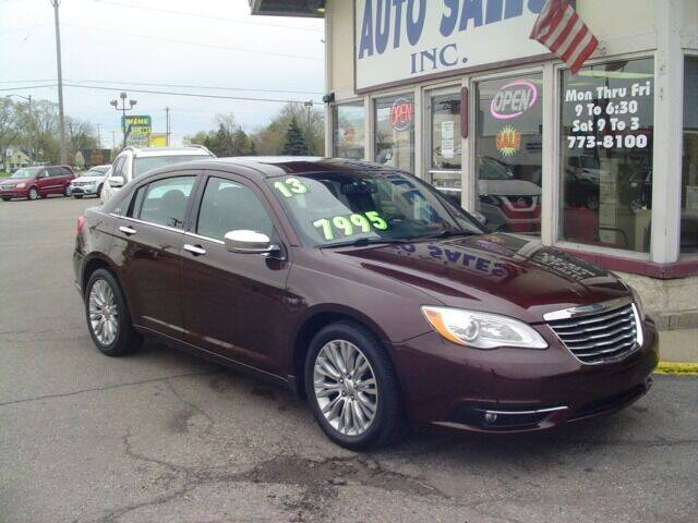 2013 Chrysler 200 for sale at G & L Auto Sales Inc in Roseville MI