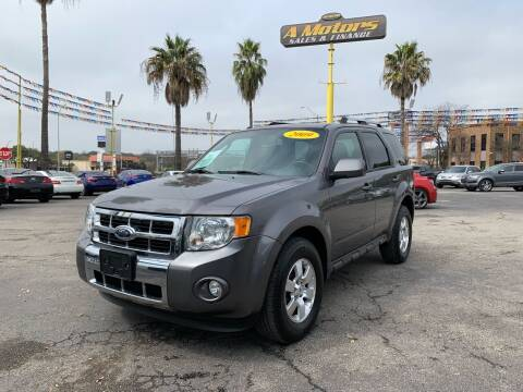 2009 Ford Escape for sale at A MOTORS SALES AND FINANCE in San Antonio TX