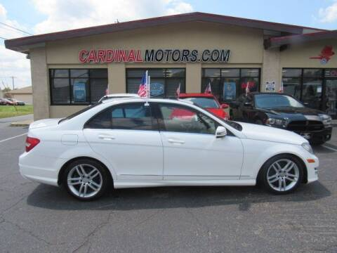 2013 Mercedes-Benz C-Class for sale at Cardinal Motors in Fairfield OH