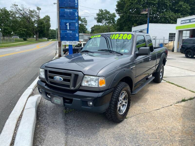 2006 Ford Ranger for sale at Ginters Auto Sales in Camp Hill PA
