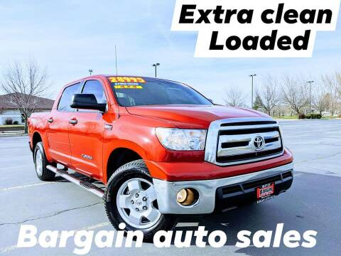 2012 Toyota Tundra for sale at Bargain Auto Sales LLC in Garden City ID