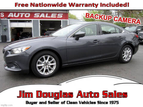 2014 Mazda MAZDA6 for sale at Jim Douglas Auto Sales in Pontiac MI