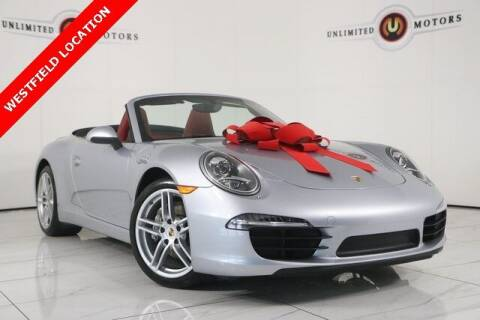 2015 Porsche 911 for sale at INDY'S UNLIMITED MOTORS - UNLIMITED MOTORS in Westfield IN
