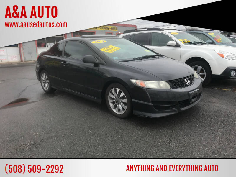 2009 Honda Civic for sale at A&A AUTO in Fairhaven MA