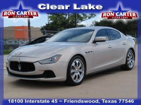 2015 Maserati Ghibli for sale at Ron Carter  Clear Lake Used Cars in Houston TX