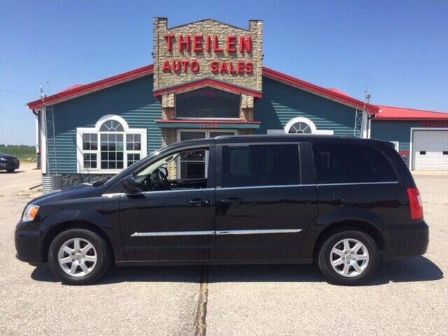 2012 Chrysler Town and Country for sale at THEILEN AUTO SALES in Clear Lake IA