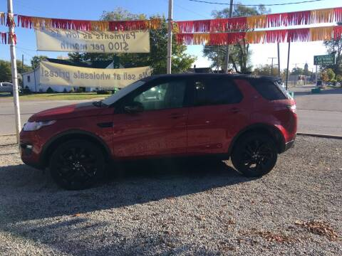 2017 Land Rover Discovery Sport for sale at Antique Motors in Plymouth IN