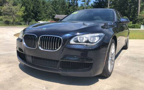 2015 BMW 7 Series for sale at County Line Car Sales Inc. in Delco NC