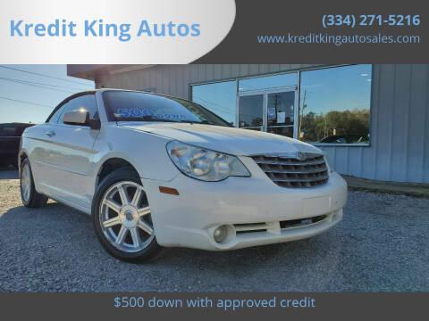 2008 Chrysler Sebring for sale at Kredit King Autos in Montgomery AL
