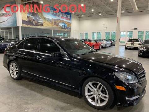 2014 Mercedes-Benz C-Class for sale at Godspeed Motors in Charlotte NC