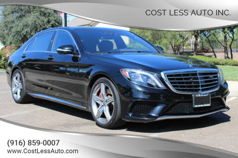 2015 Mercedes-Benz S-Class for sale at Cost Less Auto Inc. in Rocklin CA