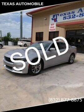 2016 Dodge Charger for sale at TEXAS AUTOMOBILE in Houston TX