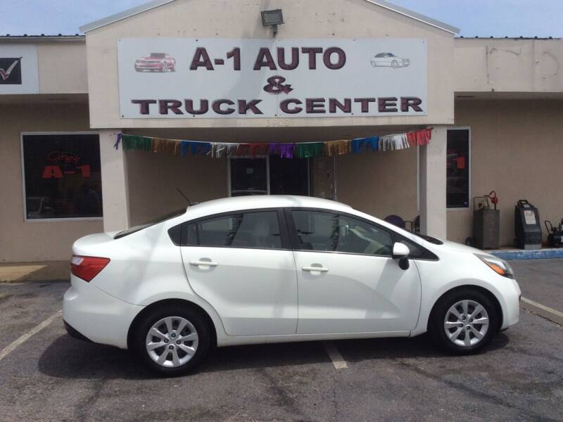 2013 Kia Rio for sale at A-1 AUTO AND TRUCK CENTER in Memphis TN