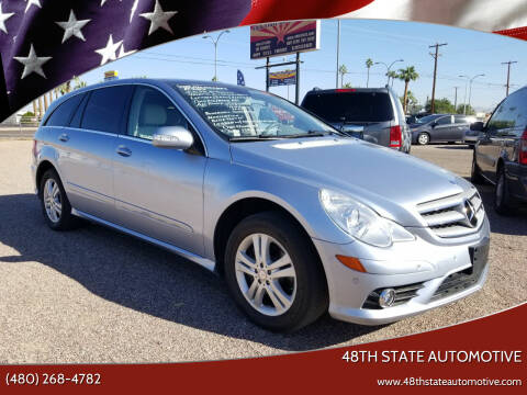 2008 Mercedes-Benz R-Class for sale at 48TH STATE AUTOMOTIVE in Mesa AZ