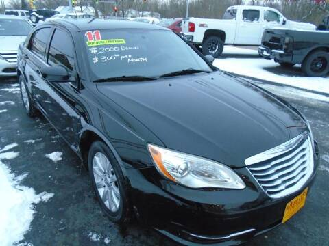 2011 Chrysler 200 for sale at River City Auto Sales in Cottage Hills IL