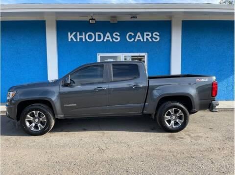 2016 Chevrolet Colorado for sale at Khodas Cars in Gilroy CA