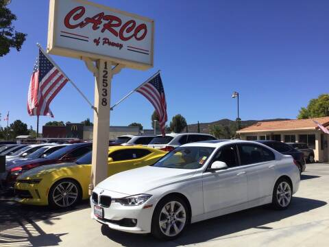 2015 BMW 3 Series for sale at CARCO OF POWAY in Poway CA