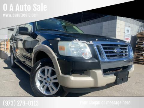 2006 Ford Explorer for sale at O A Auto Sale in Paterson NJ
