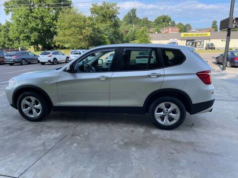 2012 BMW X3 for sale at Family Auto Sales of Johnson City in Johnson City TN