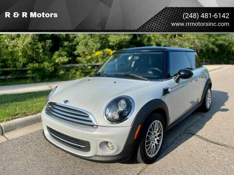 2011 MINI Cooper for sale at R & R Motors in Waterford MI