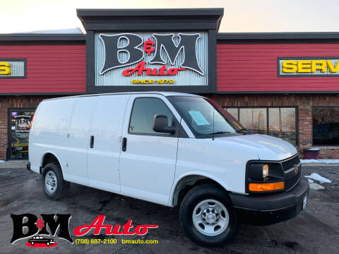 2015 Chevrolet Express Cargo for sale at B & M Auto Sales Inc. in Oak Forest IL