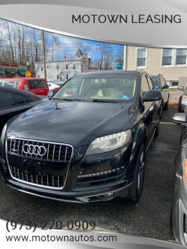 2013 Audi Q7 for sale at Motown Leasing in Morristown NJ