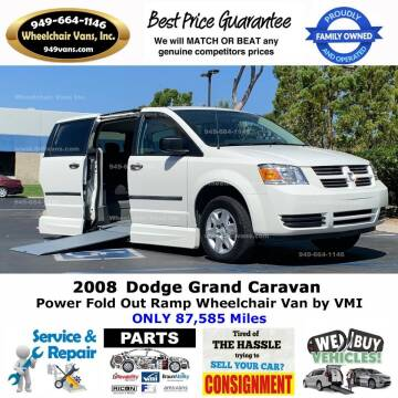 2008 Dodge Grand Caravan for sale at Wheelchair Vans Inc - New and Used in Laguna Hills CA