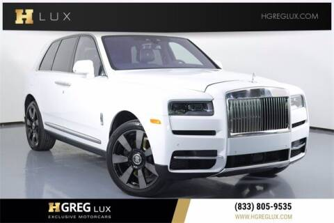 2022 Rolls-Royce Cullinan for sale at HGREG LUX EXCLUSIVE MOTORCARS in Pompano Beach FL