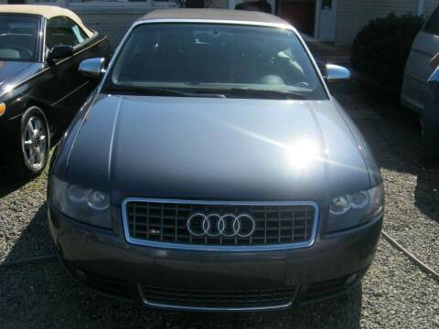 2004 Audi S4 for sale at Speed Auto Inc in Charlotte NC