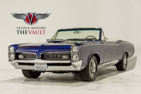1967 Pontiac GTO for sale at Veloce Motors in San Diego CA